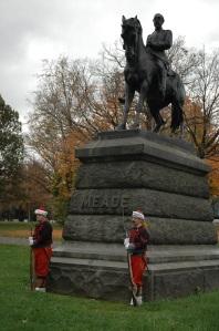 Alexander Milne Calder's Meade Statue