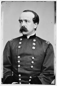 "Daniel Buttefield. In the words of early Gettysburg historian John Bachelder, he ""has never lost the occasion to stab General Meade's reputation under the fifth rib"" (Library of Congress)."