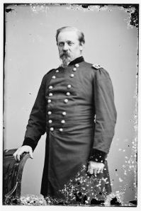 "William F. ""Baldy"" Smith was a Meade friend who eventually turned enemy. (Library of Congress)"