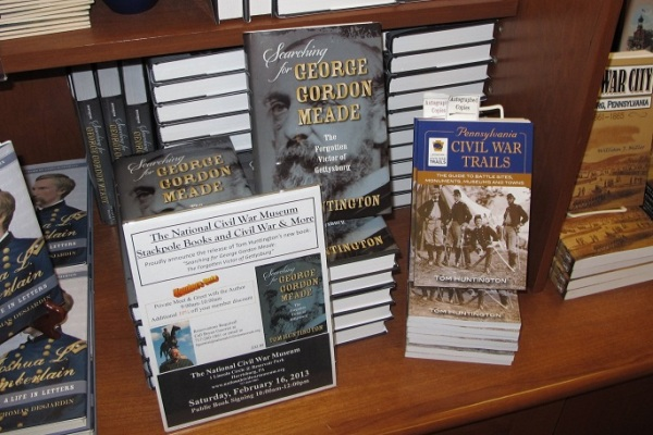 The National Civil War Museum had plenty of books on display in the bookstore. (Kyle Weaver photo.)