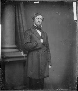 Michigan's Senator Zachariah Chandler. (National Archives.)