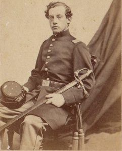 Lt. Arthur Dehon, who was serving as Meade's aide when he was killed at Fredericksburg (Courtesy Rick Lawrence).