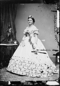 First Lady Mary Todd Lincoln (Library of Congress)