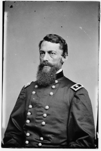 Major General George Stoneman, who commanded the cavalry corps (Library of Congress).