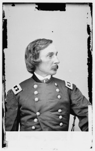 General Gouverneur K. Warren, the Army of the Potomac's chief engineer, supported Meade's claim that he had not encouraged Hooker to retreat from Chancellorsville. Later in the war Warren and Meade would develop a rancorous relationship (Library of Congress).