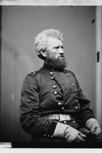 Maj. Gen. Robert Milroy waited unti it was too late to retreat from Winchester, Virginia (Library of Congress).