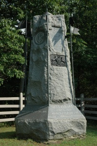 The 6th Pennsylvania Cavalry monument at Gettysburg (Tom Huntington).