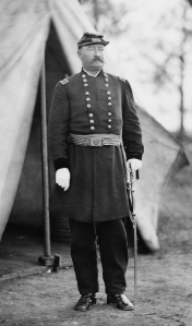Maj. Gen. William French, who had command of the III Corps following Sickles' wounding. He did not demonstrate any particular ability (Library of Congress).