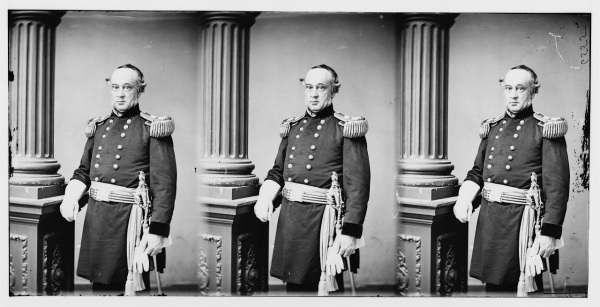 "Major General Henry Halleck, a.k.a. ""Old Brains"" (Library of Congress)."