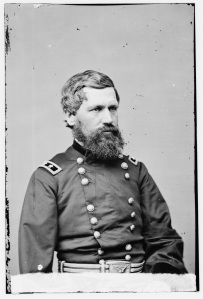 Maj. Gen. Oliver O. Howard. He defended Meade in a letter to President Lincoln (Library of Congress).