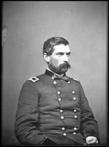 Brigadier General John Gibbon. He became a major general in June 1864 (Library of Congress).