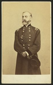 George Gordon Meade as he appeared in a carte de visite (Library of Congress).