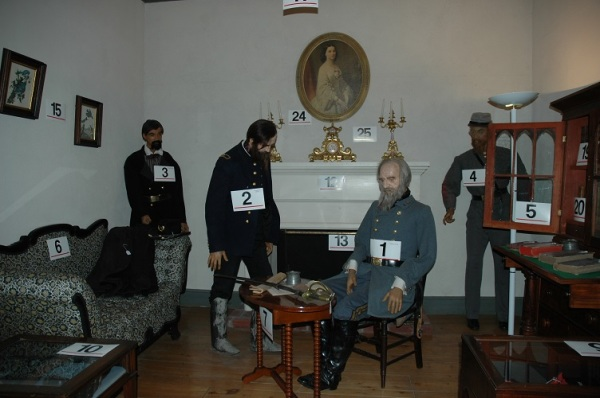"The Wax Museum answered the oft-asked question, ""What would the surrender at Appomattox have looked like it enacted by zombies?"