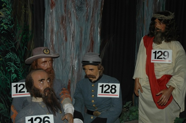 "Stonewall Jackson lies mortally wounded in the Wilderness. He still has enough presence of mind to have the commander of the famed ""Jesus Brigade"" arrested for allowing too much straggling."