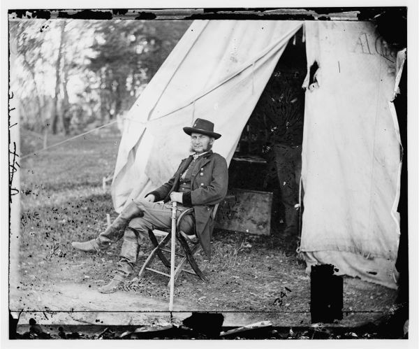 Judson Kilpatrick, the controversial cavalry commander (Library of Congress).