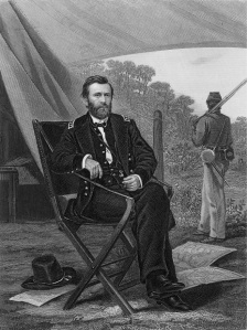 Ulysses S. Grant, in a print based on an illustration by Thomas Nast (Library of Congress).