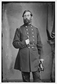The Army of the Potomac's head of artillery, Henry Hunt. He said he would have known if Meade had been planning a retreat from Gettysburg (Library of Congress).
