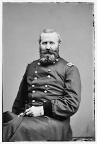Alexander Hays was killed in the Wilderness (Library of Congress).