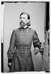 General Thomas Crittenden was not long with the Army of the Potomac, resigning in June over a question of rank (Library of Congress).