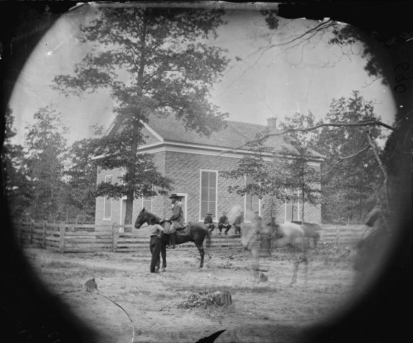 Timothy O'Sullivan took those photograph of New Bethel Church on May 23, 1864. Click to enlarge (Library of Congress).