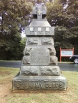 The Sedgwick monument at Spotsylvania.