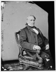 Congressman Eli Washburne of Illinois, a great supporter of Ulysses S. Grant (Library of Congress).