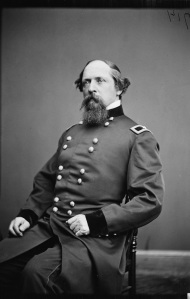 James B. Ricketts. The former artilleryman commanded a division in the VI Corps. His sister had married Meade's brother (Library of Congress).