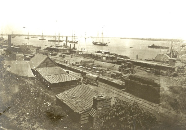 Another view of City Point, also taken on July 5, 1864 (Library of Congress).