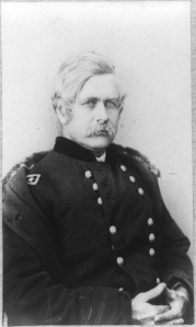 "General E.O.C. Ord. His soldiers called him ""Old Alphabet."" Meade had served with him early in the war (Library of Congress)."