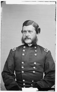 General John G. Parke, commander of the IX Corps (Library of Congress).