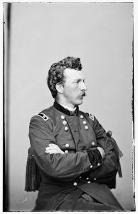 Brig. Gen. Nelson Miles commanded a division of the II Corps (Lilbrary of Congress).