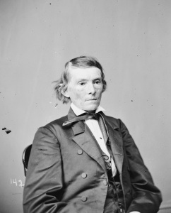 Alexander Stephens, the vice president of the Confederacy (Library of Congress).