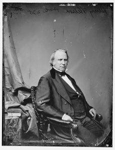 Senator Henry Wilson of Massachusetts. Meade considered him a supporter in Washington (Library of Congress).