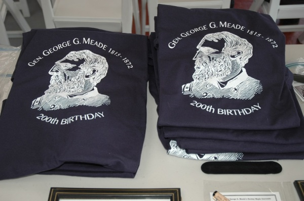 Of course, I had to get a Meade bicentennial tee shirt!