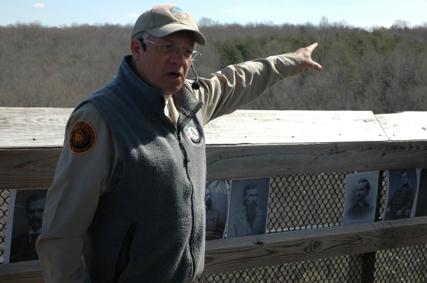 Ranger Bob Flippen explains the fighting around the High Bridge.
