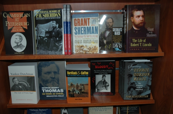 Nice to see: Searching for George Gordon Meade is available at Appomattox Court House!