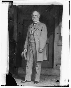 Robert E. Lee, photographed in Richmond in April 1865 (Library of Congress).