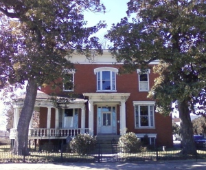 The Wallace House in Petersburg, where Grant and Lincoln met on April 2, 1865.