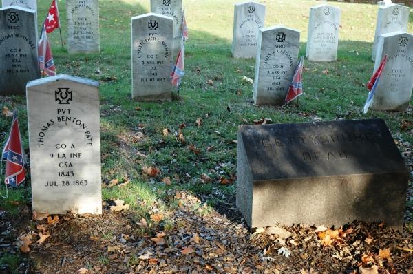The Gettysburg dead.
