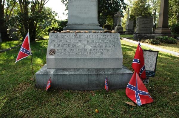Jb Stuart's gravesite.