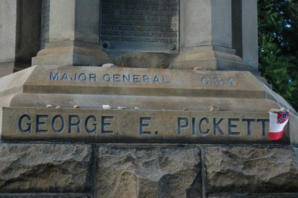 Pickett, post-charge.